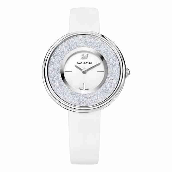 relógio swarovski crystalline pure