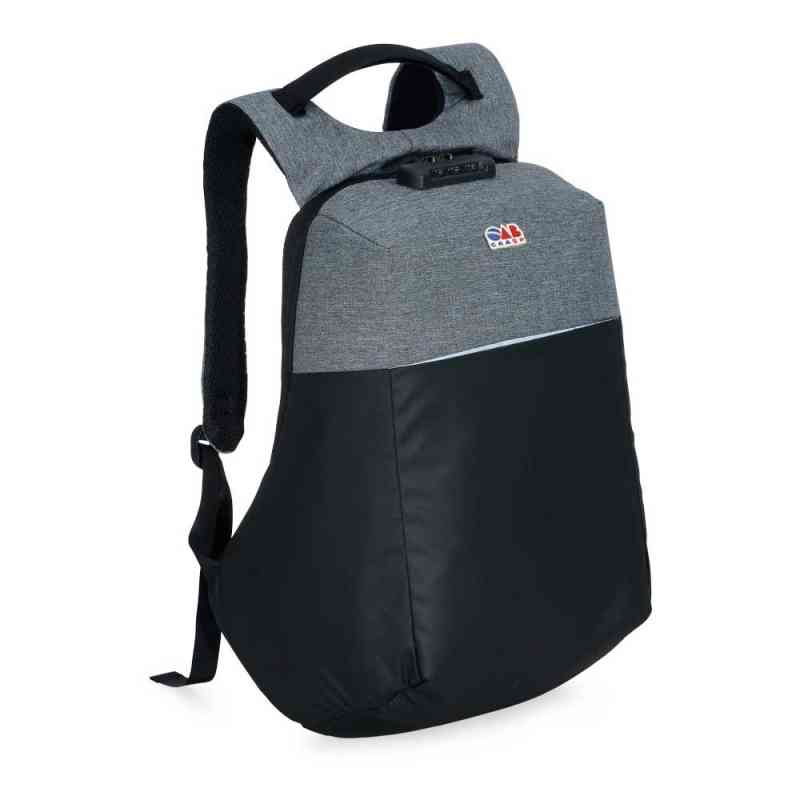 mochila anti-furto com cadeado