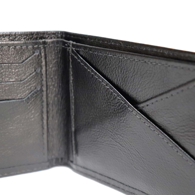 carteira em couro natural